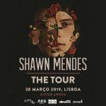 The Tour de Shawn Mendes dia 28 de março de 2019 na Altice Arena