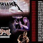 Metallica iniciam a Worldwired Tour 2019 no Estádio do Restelo