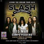 Slash ft. Myles Kennedy & The Conspirators apresentam Living the Dream dia 15 de março em Lisboa