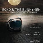 "Echo and the Bunnymen trazem ""The Stars, the Oceans & the Moon"" a Portugal em 2019"