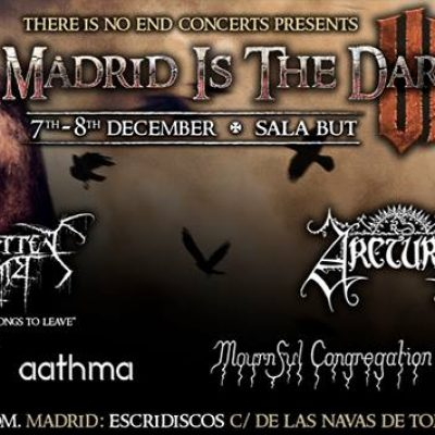 Festival Madrid is the Dark 2018 com Triptykon, Solstafir e Arcturus