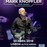 Mark Knopfler dos Dire Straits anunciou concerto em Lisboa em 2019