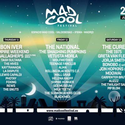 Festival Mad Cool 2019 confirmou mais 17 candidatos ao NOS Alive: Noel Gallagher, Greta Van Fleet