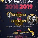 Expensive Soul e Rosinha são os Headliners da Passagem de Ano 2018/2019 na Nazaré