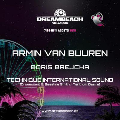 Festival Dreambeach Villaricos 2019 confirmou os primeiros nomes: Armin van Buuren
