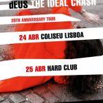 dEUS com concertos em 2019 no Coliseu de Lisboa e no Hard Club no Porto