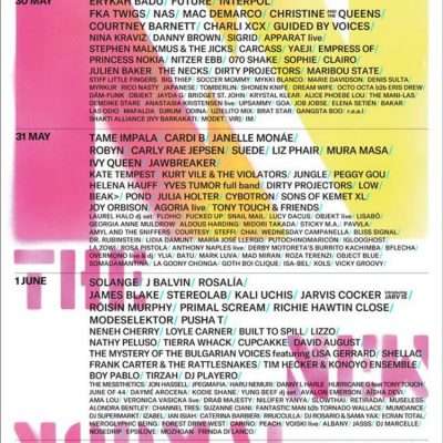 Festival Primavera Sound Barcelona 2019 revelou o cartaz completo