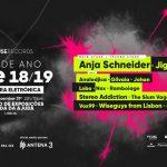 Fuse Funfarra Eletrónica NYE 2018/2019 na Tapada da Ajuda com Anja Schneider e bar aberto