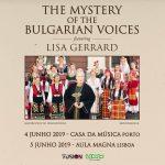 Mistério das Vozes Búlgaras feat Lisa Gerrard com concertos em 2019 no Porto e Lisboa