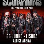 Scorpions regressam a Portugal em 2019 para concerto na Altice Arena