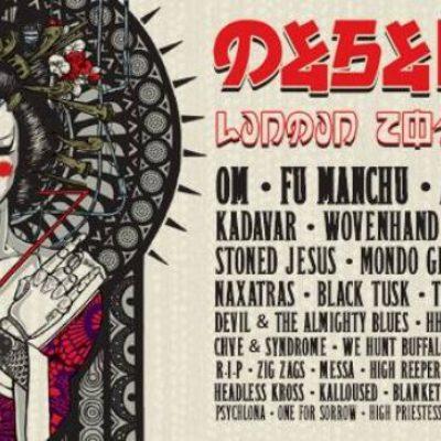 Festival Desertfest London 2019 em Camden Town com os Amenra, Om, Fu Manchu, All Them Witches
