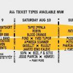 Flow Festival Helsinki 2019 com The Cure, Cardi B, Tame Impala, Earl Sweatshirt