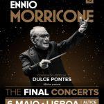 Maestro Ennio Morricone despede-se de 60 anos de carreira com concerto em Lisboa