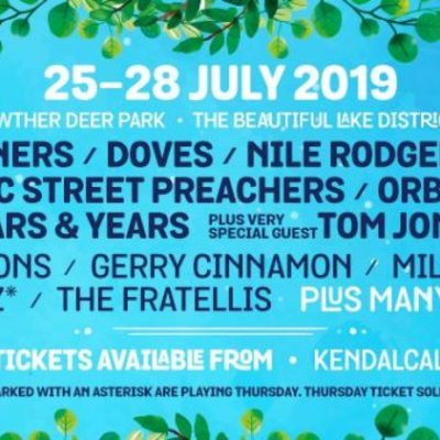 Kendal Calling 2019 com os Courteeners, Doves, Nile Rodgers, Manic Street Preachers