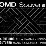 OMD festejam o 40º aniversário com concertos em Lisboa e Porto