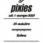 Pixies regressam a Portugal para concerto no Campo Pequeno no dia 25 de outubro