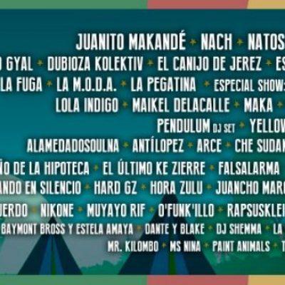 Festival Cabo de Plata 2019 com Juanito Makandé, Nach, Natos Y Waor e Orishas