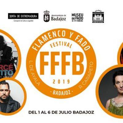 FFFB Festival de Flamenco e Fado Badajoz 2019 com Dulce Pontes