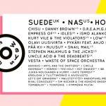 Sideways Festival 2019 com Suede, Nas, Hot Chip, Chisu, Danny Brown