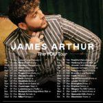 """James Arthur apresenta """"You"""" no Campo Pequeno em janeiro"""