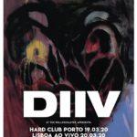 """DIIV apresentam """"Deceiver"""" em Lisboa e Porto (cancelados)"""