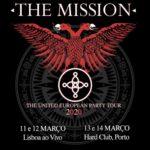 The Mission com 4 concertos em março no Porto e em Lisboa