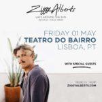Ziggy Alberts estreia-se em Portugal em Maio de 2020 (cancelada)