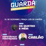 Passagem de Ano 2019/2020 na Guarda com Carlão e Os Quatro e Meia