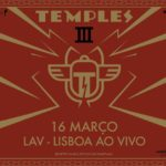 Temples estreiam-se em Portugal em nome próprio em março (adiado)