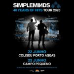 Simple Minds celebram 40 anos com concertos no Coliseu do Porto e no Campo Pequeno