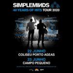Simple Minds celebram 40 anos com concertos no Coliseu do Porto e no Campo Pequeno (adiados para 2021)