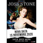 Concerto de Joss Stone no Pavilhão Rosa Mota foi adiado para novembro (adiado para 2021)