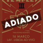 Temples adiam estreia em Portugal em nome próprio por causa do Covid-19