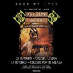 Concertos dos Machine Head nos Coliseus de Lisboa e Porto adiados para outubro (cancelado)