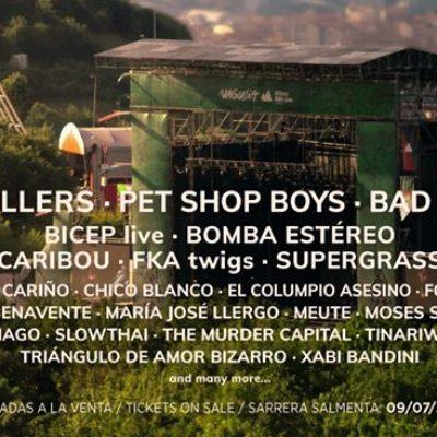 Festival Bilbao BBK Live 2021 reconfirmou The Killers, Pet Shop Boys, Bad Bunny e outros nomes