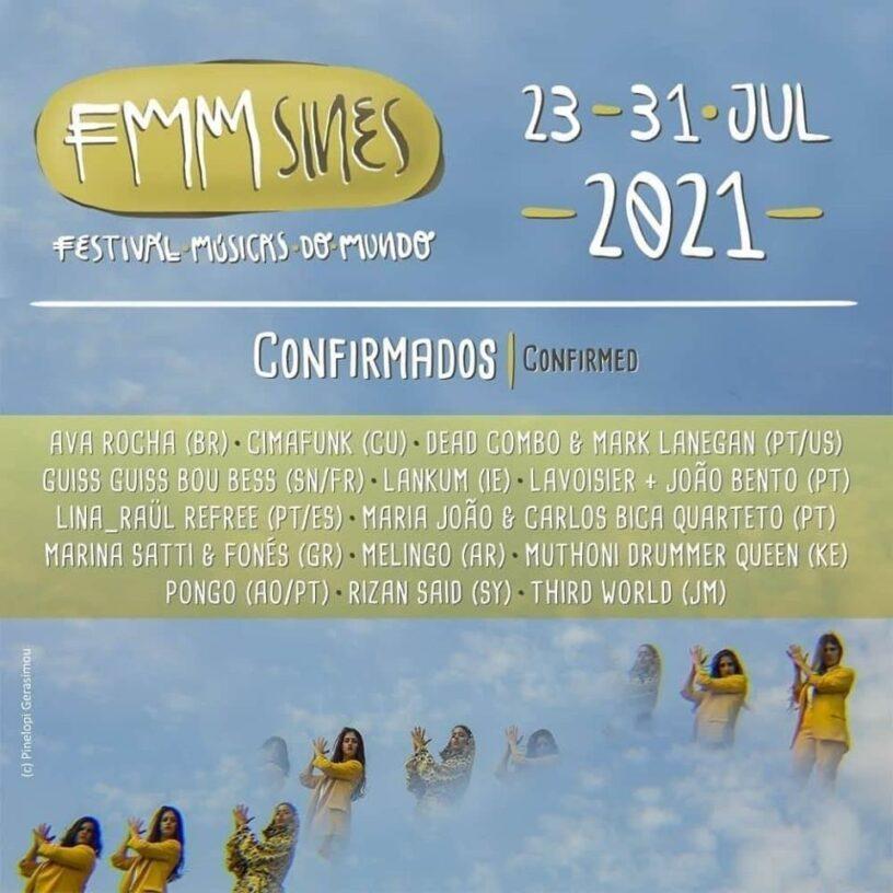 FMM Sines – Festival Músicas do Mundo 2021 confirmou os primeiros 14 artistas e projetos musicais – Toupeiras – Agenda de Festivais e Concertos