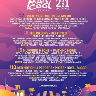 Festival Mad Cool 2021 (irmão NOS Alive) confirmou 70% do seu cartaz