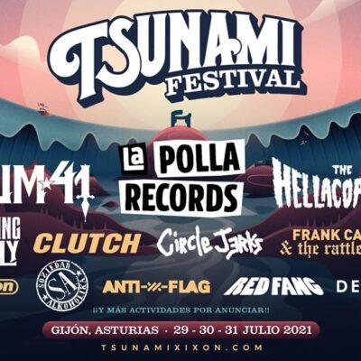 Festival Tsunami Xixón já revelou o cartaz para 2021
