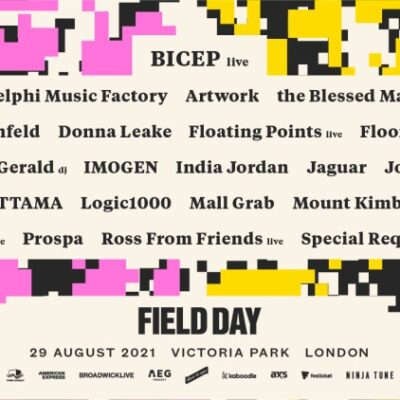 Festival Field Day London 2021 com Bicep, Jungle, Floating Points, George FitzGerald